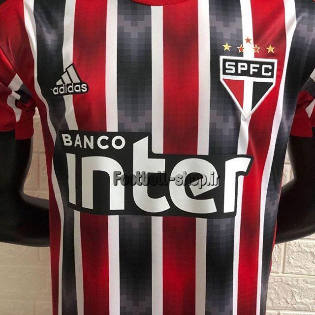لباس دوم قرمز مشکی گرید یک +A اریجینال 2020 سائوپائولو-Adidas