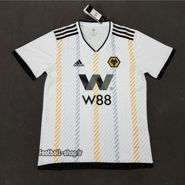 پیراهن هواداری سفید اریجینال +A ولورهمپتون 2020-Adidas