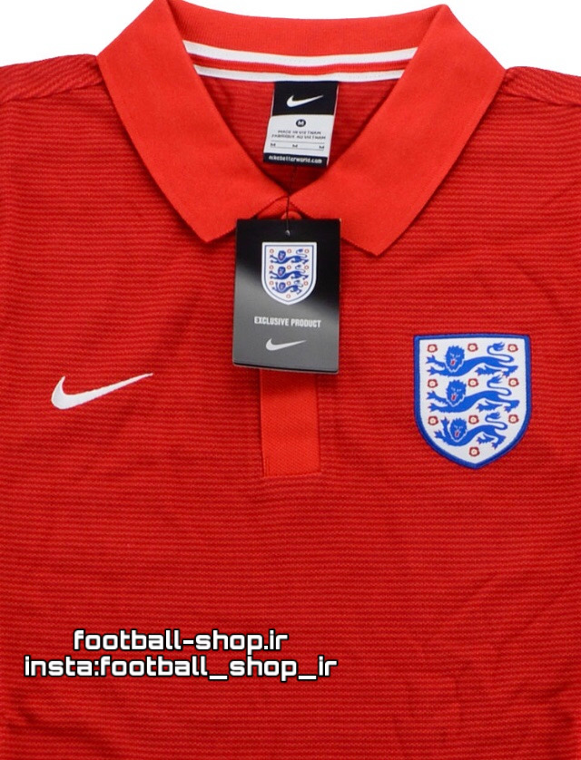 پولوشرت اورجینال درجه یک +A قرمز انگلیس-NIKE