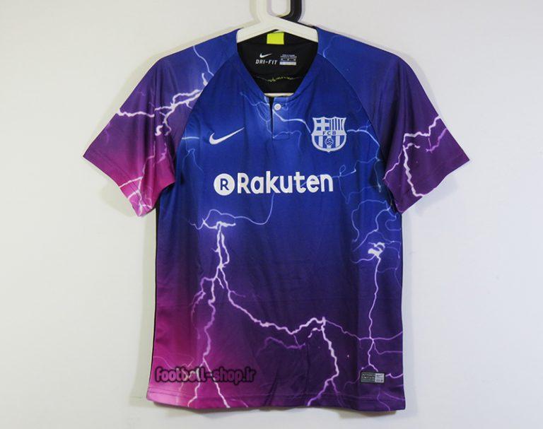 لباس هواداری فیفا دیجیتال اریجینال +A بارسلونا-Nike