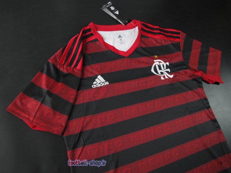 لباس اول قرمزمشکی اریجینال +A فلامینگو برزیل 2020-Adidas