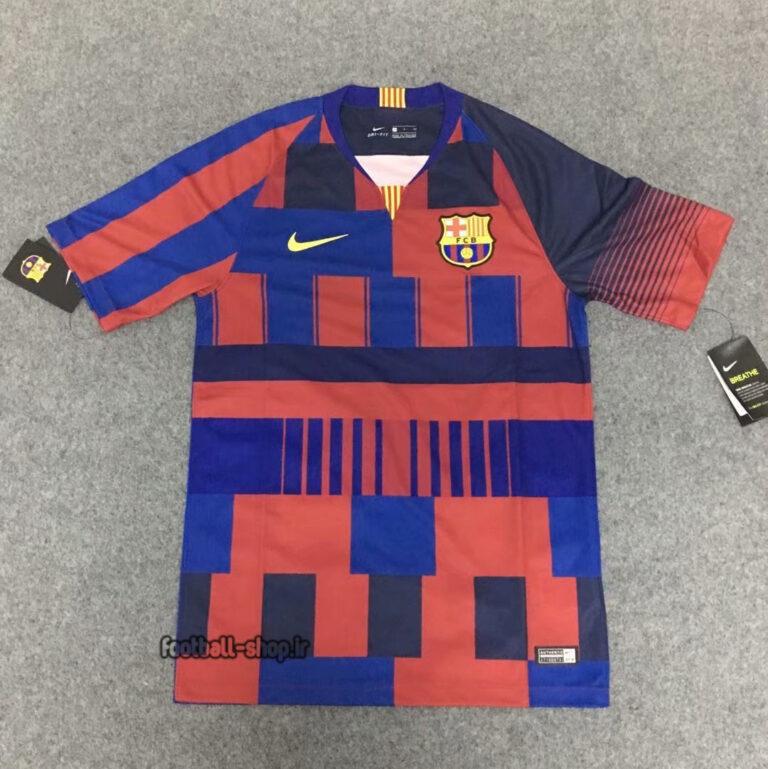 لباس کلاسیک فوتبال اریجینال +A بمناسب 120 سالگی بارسلونا-Nike