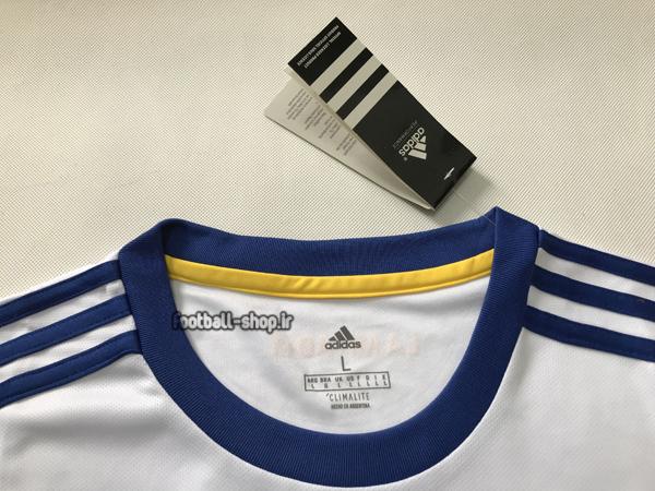 لباس و شورت دوم سفید اریجینال درجه یک +A بوکاجونیورز 2021-Adidas