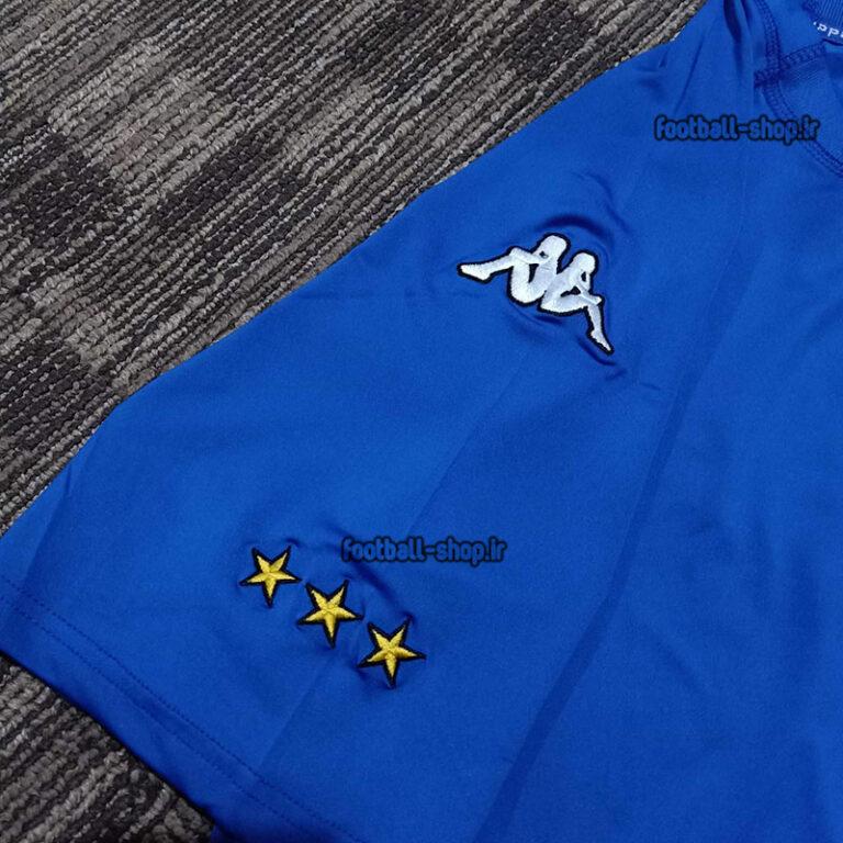 لباس آبی نوستالژی و کلاسیک اریجینال درجه یک ایتالیا 2002,Kappa