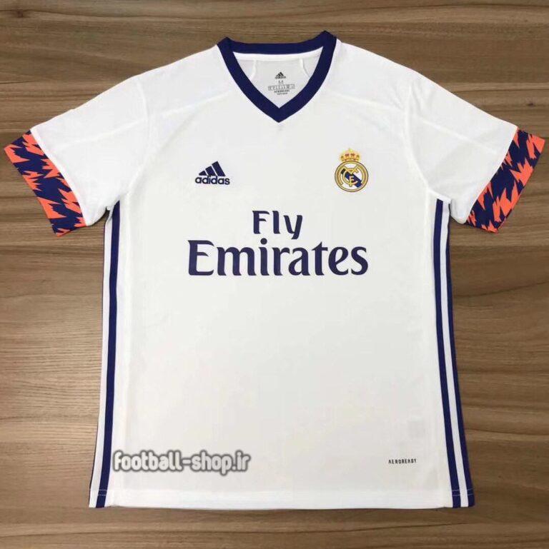 لباس اول سفید اریجینال درجه یک +A رئال مادرید 2021-Adidas