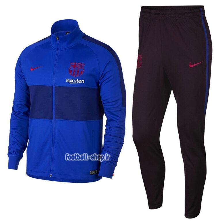 گرمکن شلوار اریجینال درجه یک +A آبی 2020 بارسلونا-Nike