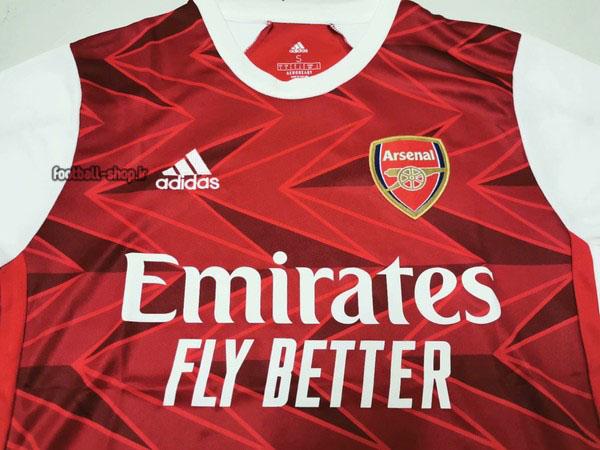 لباس اول قرمز اریجینال درجه یک +A آرسنال2021-2020-Adidas