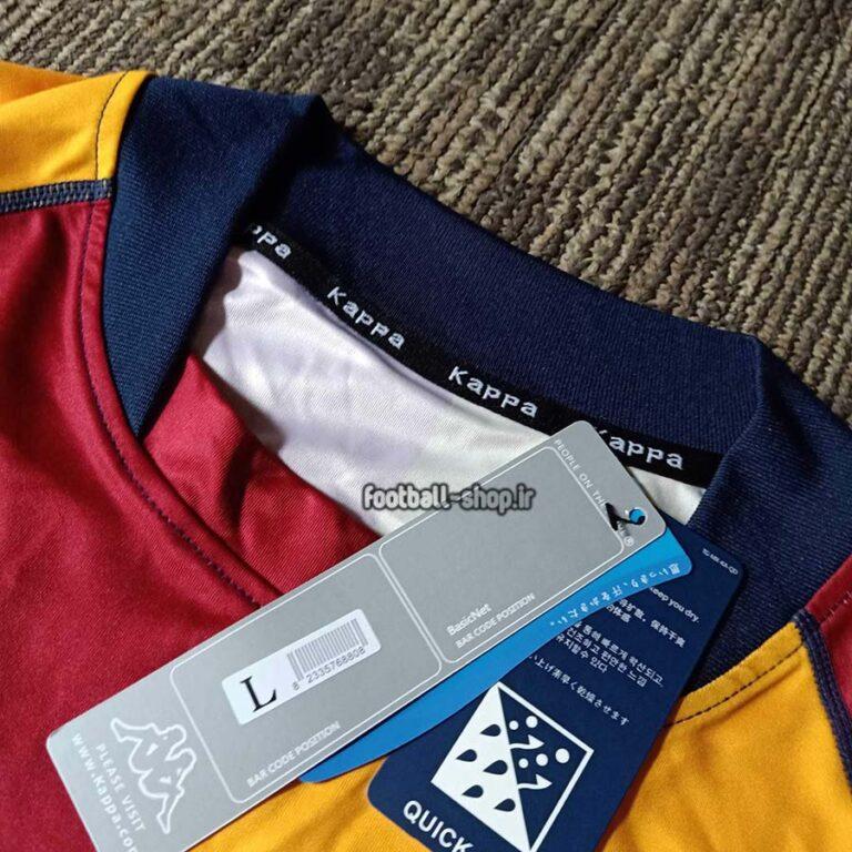 لباس اول نوستالژی و کلاسیک اریجینال درجه یک آس رم 2001/02-Kappa