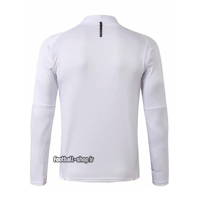 ست سویشرت شلوار حرفه ای سفید مشکی اریجینال2020 آث میلان-Puma