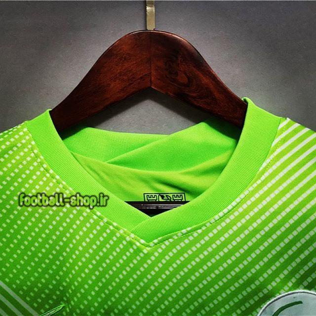 لباس اول سبز اریجینال درجه یک +A ولفسبورگ 2021-2020-Nike