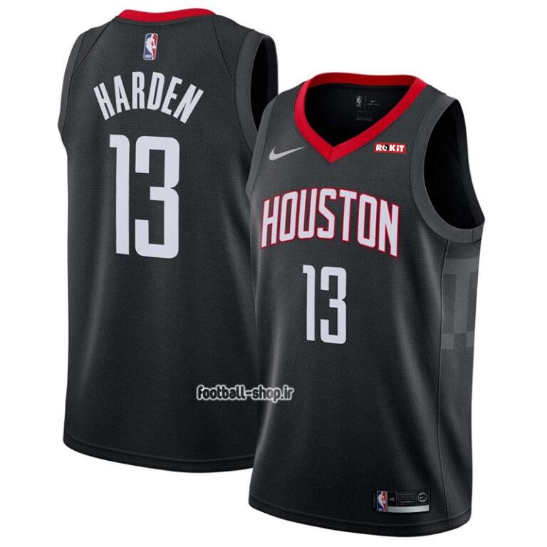 رکابی بسکتبال مشکی هیوستون راکت| جیمزهاردن 13 ,آپلاس اصل Nike