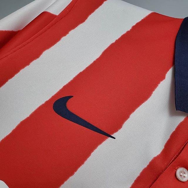 لباس اول قرمز سفید اریجینال آ پلاس اتلتیکومادرید2021-Nike