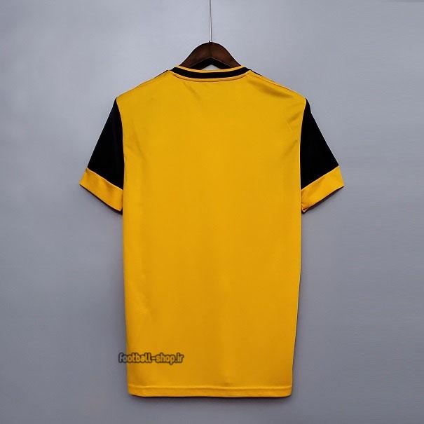 لباس اول نارنجی مشکی اریجینال درجه یک +A ولورهمپتون2021-Adidas