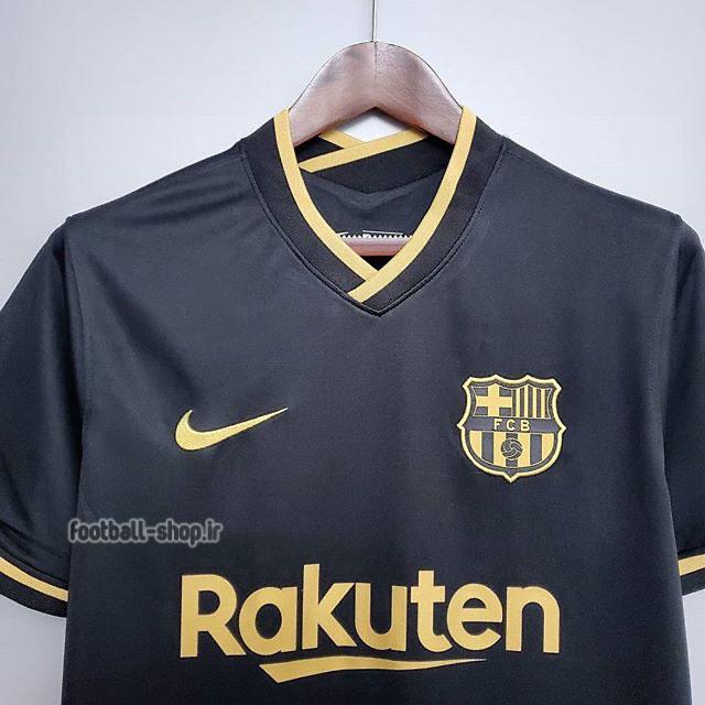 لباس دوم مشکی اریجینال درجه یک آ پلاس بارسلونا 2021-Nike