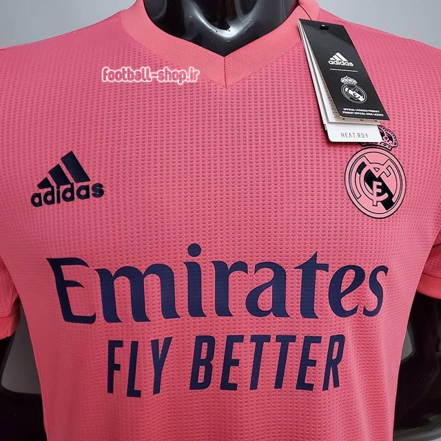 کیت دوم ورژن بازیکن اریجینال آ پلاس رئال مادرید 2021-Adidas