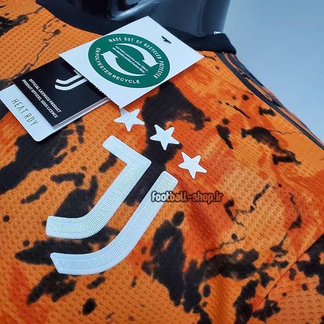 لباس سوم ورژن بازیکن اریجینال درجه یک +A یوونتوس 2021-Adidas