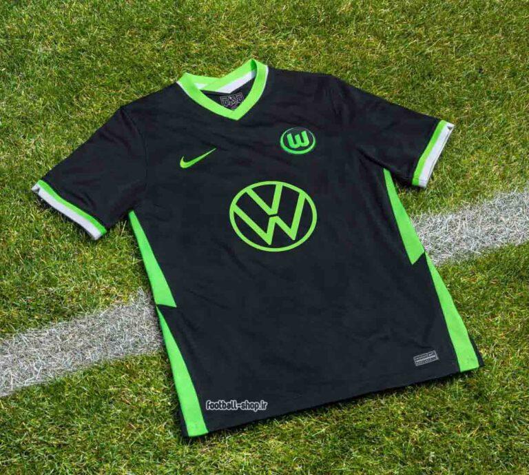 لباس دوم مشکی اریجینال درجه یک +A ولفسبورگ 2021-2020-Nike