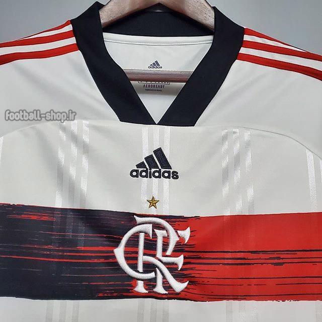 کیت دوم سفید اریجینال آ پلاس فلامینگو 2021-2020-Adidas