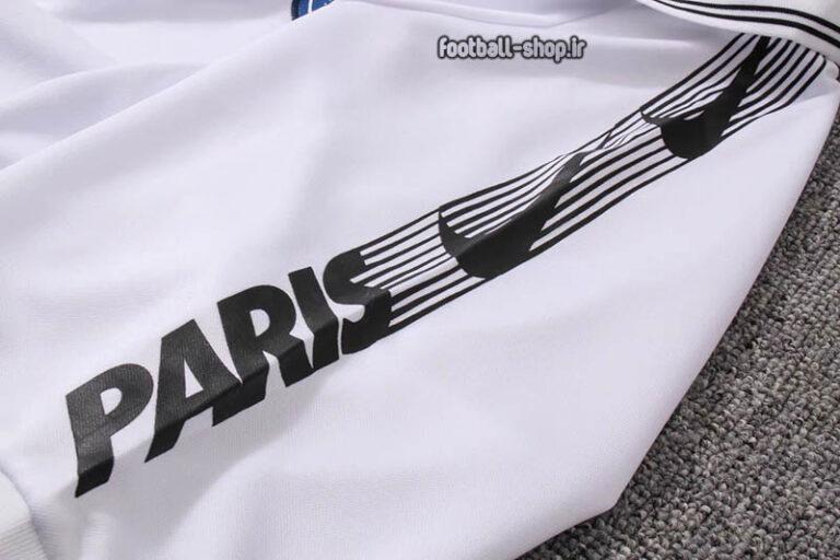 پولوشرت و شلوار پاری سن ژرمن سفید 2020 آ پلاس اریجینال-Nike