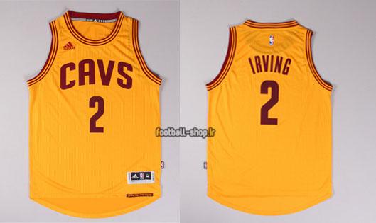 رکابی بسکتبال زرد کیلیولند کاوالیرز| کایری اروینگ,آپلاس اصل Adidas
