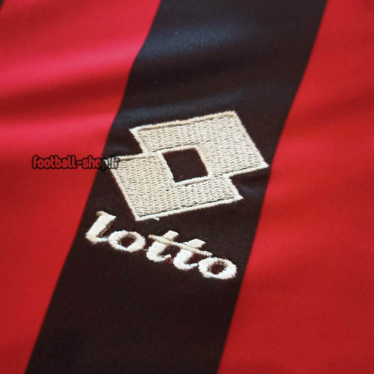 لباس اول کلاسیک 1993-1994 آث میلان +A اریجینال-Lotto