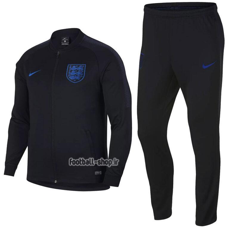 ست گرمکن شلوار حرفه ای سرمه ای اورجینال 2020 انگلیس-Nike