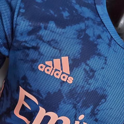 لباس سوم سرمه ای ورژن بازیکن اریجینال آ پلاس آرسنال 2021-Adidas