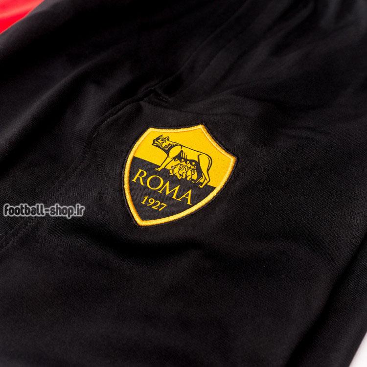 ست گرمکن شلوار قرمز مشکی +A اریجینال 2021 آس رم-Nike