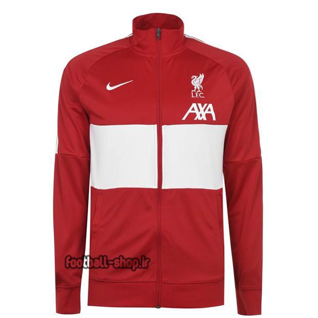 ست گرمکن شلوار قرمزمشکی +A اریجینال 2021 لیورپول-Nike