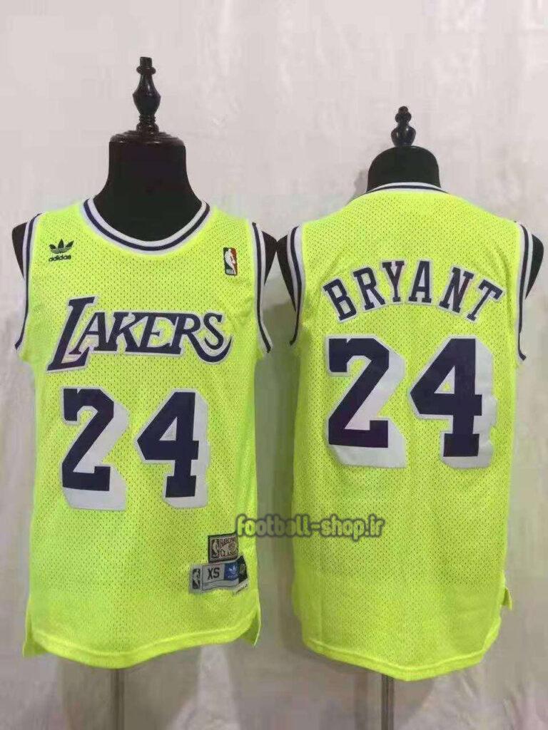 رکابی بسکتبال لس آنجلس لیکرز| کوبی برایانت 24 ,NBA JERSEY اصل ADIDAS