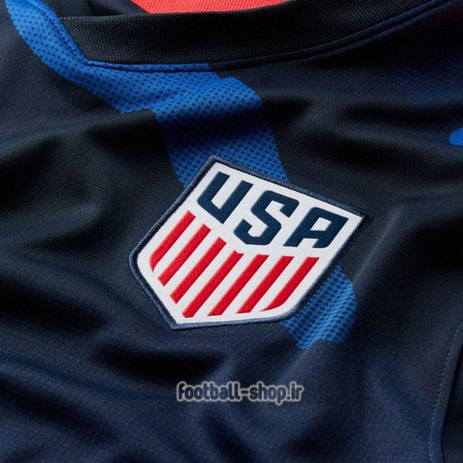 لباس دوم آستین کوتاه اریجینال درجه یک +A آمریکا 2021-Nike