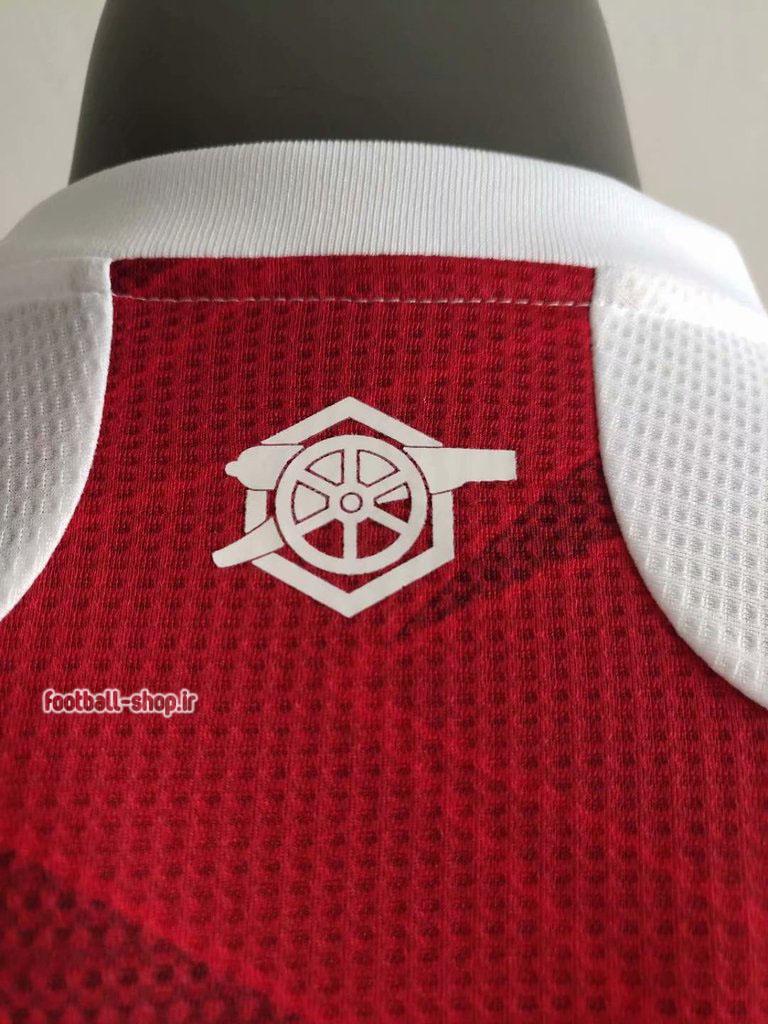 لباس اول آرسنال اریجینال آ پلاس ورژن بازیکن2021-Adidas