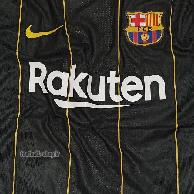 لباس دوم اریجینال درجه یک +A بارسلونا 2022-2021 ورژن بازیکن-Nike