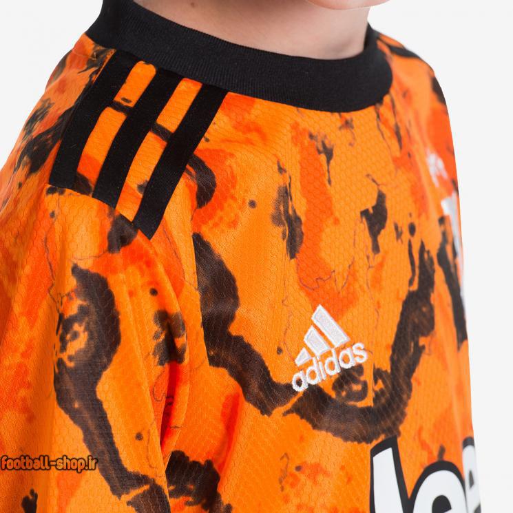 لباس سوم یوونتوس 2021 اریجینال درجه یک +A بچگانه-Adidas