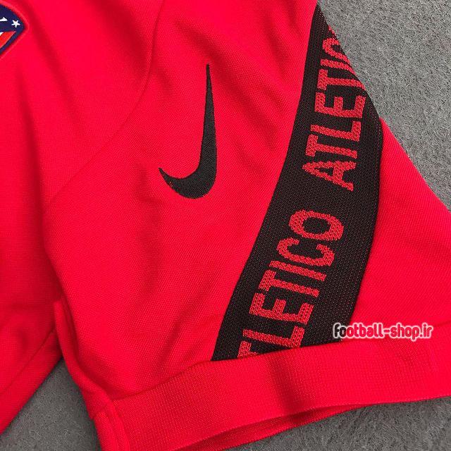 پولوشرت شلوار اتلتیکومادرید قرمزمشکی +A اریجینال 2021-Nike