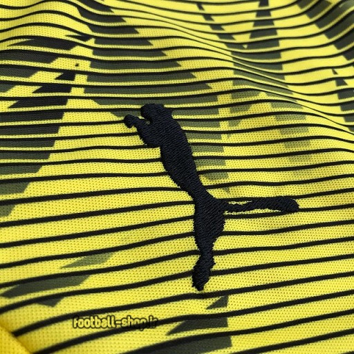 پولوشرت شلوار دورتموند زرد مشکی+A اریجینال 2021-Puma