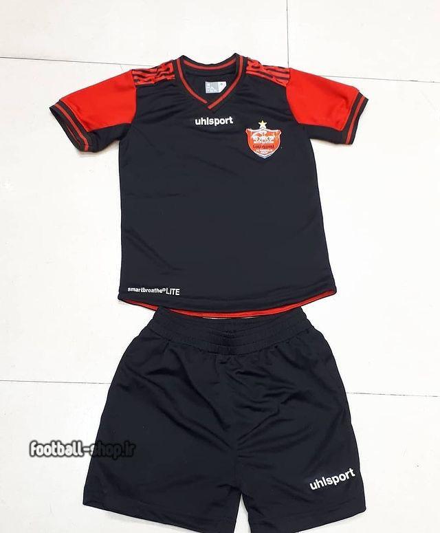 لباس و شورت مشکی +A اریجینال پرسپولیس(بچه گانه)2021-Uhl sport