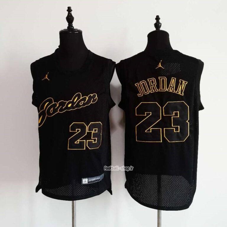 رکابی بسکتبال مایکل جردن| مشکی 23 ,NBA JERSEY اصل
