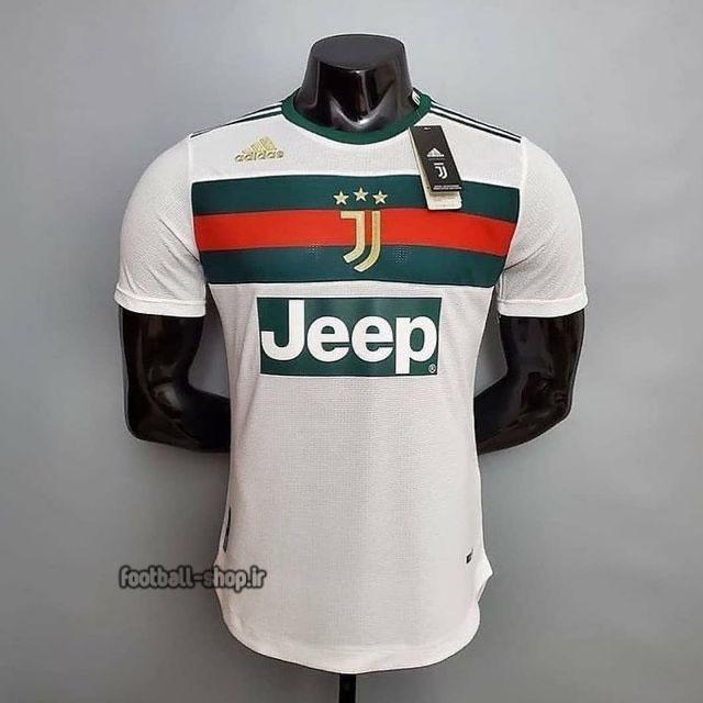 لباس هواداری سفید اریجینال +A یوونتوس 2022 ورژن بازیکن-Nike