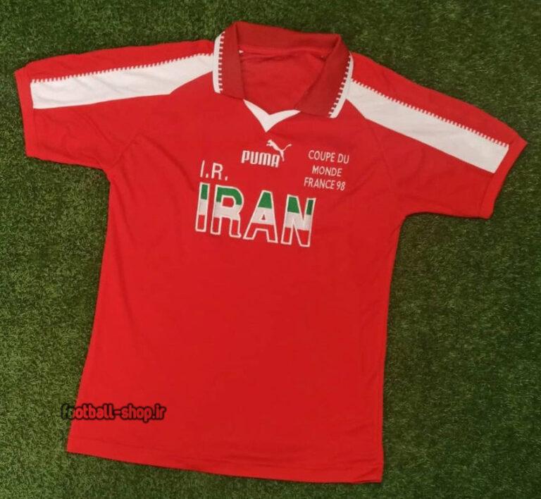 لباس کلاسیک ایران 1998 قرمز +A اریجینال-Puma