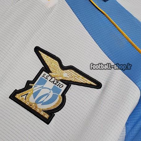 کیت اریجینال آ پلاس لباس سفید کلاسیک لاتزیو 2000-2001-Puma