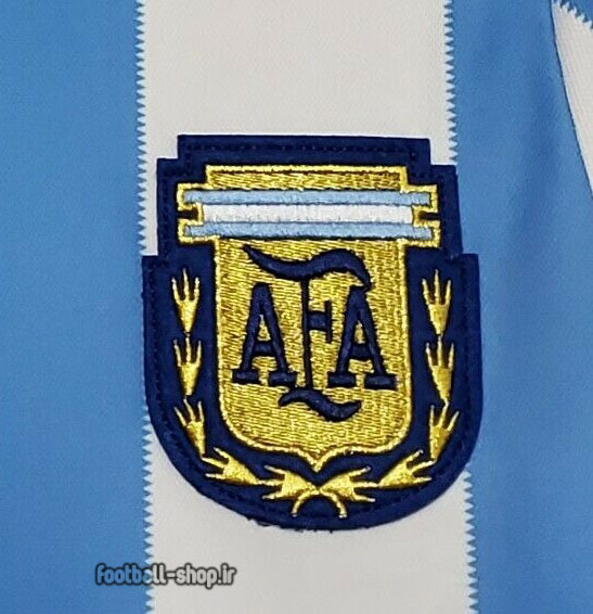 لباس کلاسیک آرژانتین 1986 +A اریجینال-Sportif