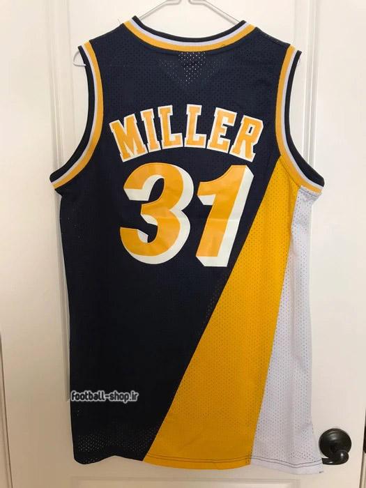 رکابی بسکتبال ایندیانا | رجی میلر 31 ,NBA JERSEY اصل ADIDAS