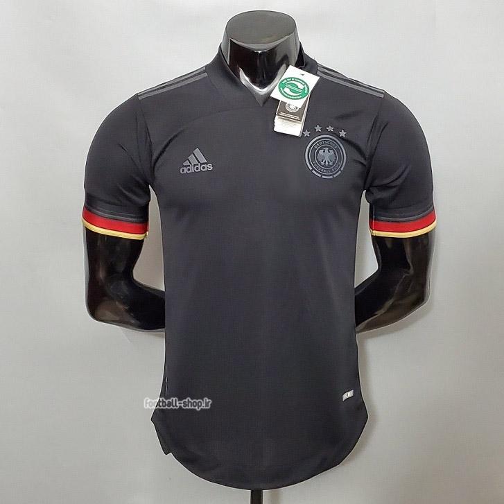 لباس دوم مشکی آلمان اریجینال یورو 2021 ورژن بازیکن-Adidas