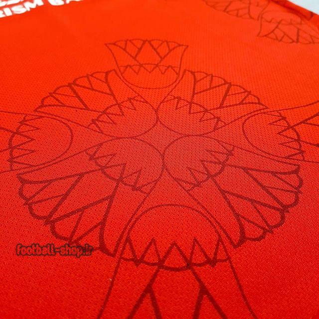 لباس وشورت قرمز پرسپولیس 1400-Super flament بچگانه و مردانه
