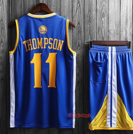 رکابی و شورت بسکتبال گلدن استیت تریستان تامپسون 11#آبی,سوپرسوزنی