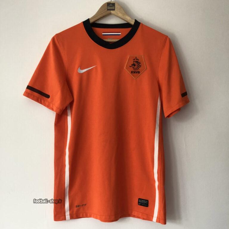 کیت اریجینال آ پلاس لباس کلاسیک هلند 2010 نارنجی-Nike