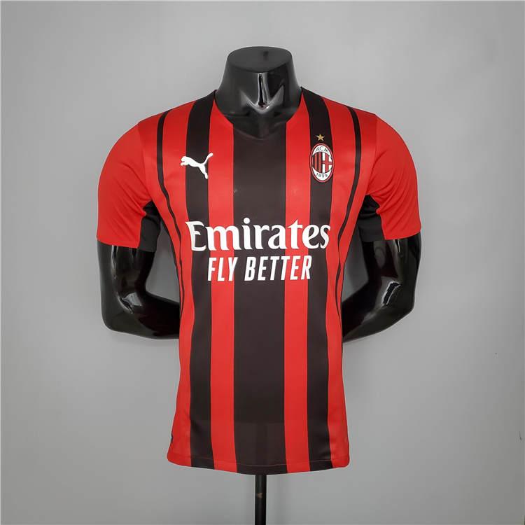 لباس اول قرمز مشکی اریجینال ورژن بازیکن +A آث میلان 2022-Puma