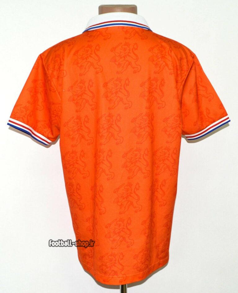 کیت اریجینال آ پلاس لباس کلاسیک هلند 1994 نارنجی-Lotto