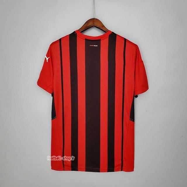 لباس اول قرمز مشکی اریجینال درجه یک +A آث میلان 2022-Puma